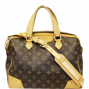 LOUIS VUITTON Retiro PM Canvas Shoulder Bag